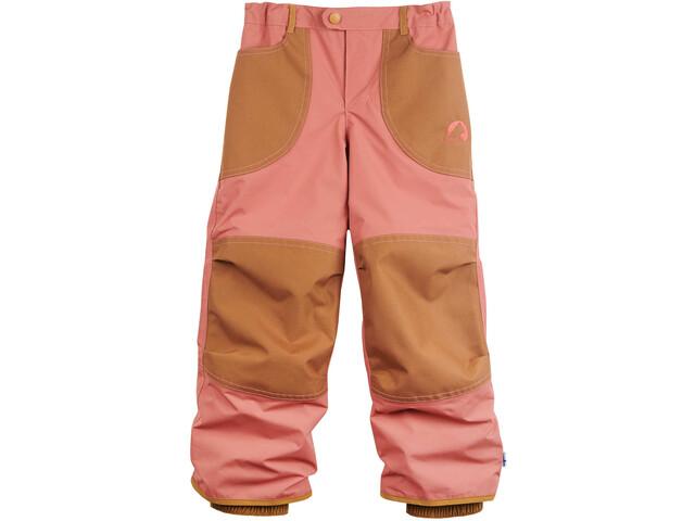 Finkid Tobi Pantalones Niños, rose/cinnamon